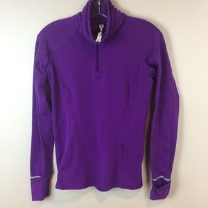 Lululemon purple quarter zip pullover